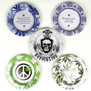 Decorative Metal Ashtrays