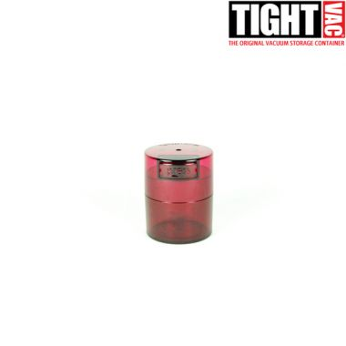 Tight Vac Containers Translucent - Red (0.12L)