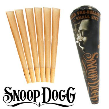 Snoop Dogg Unbleached Pre-Rolled 1 1/4 Size Cones