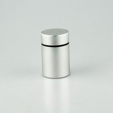 Head Case Bud Pot - Small Silver