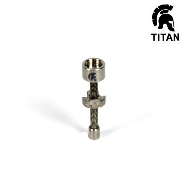 Titan Titanium Adjustable Male Nail 10mm