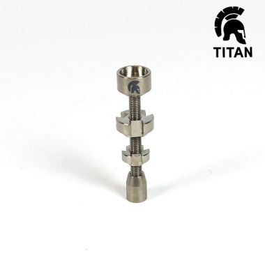 Titan Titanium Adjustable Male Nail 14/18