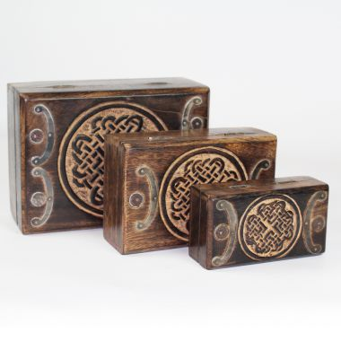 Celtic Quaternary Knot Box 3 in 1