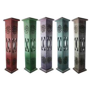 Weathered Wood Coloured Magrathea Incense Towers