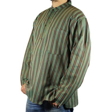 Jonesy Striped Granddad Shirt