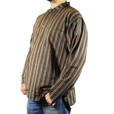 Wilson Striped Granddad Shirt