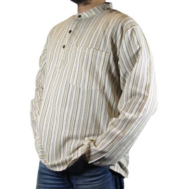 Godfrey Striped Granddad Shirt
