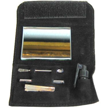 Mirror Snuff Kit (Silver)