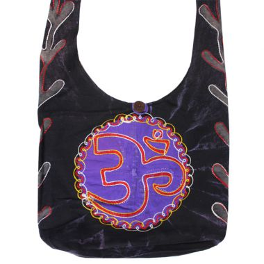Nepalese Shoulder Bags - Om