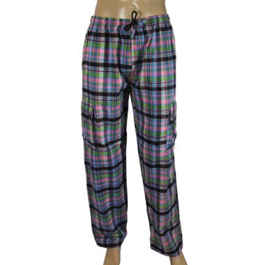 Pandora Chequered Flannel Trousers