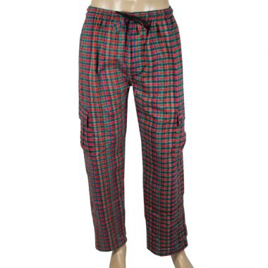 Tumnus Flannel Chequered Combat Trousers