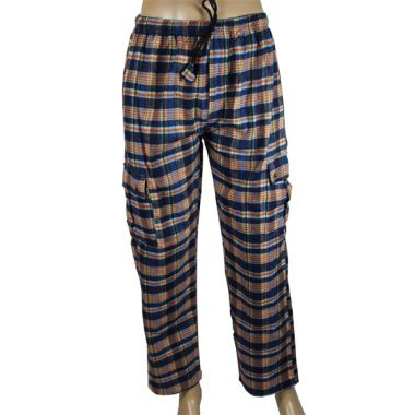 Coruscant Chequered Flannel Combat Trousers