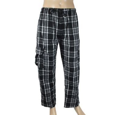 Stark Chequered Flannel Combat Trousers