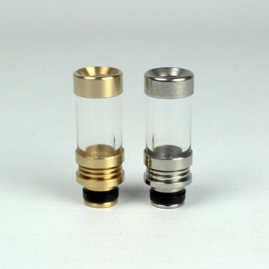 Glass & Metal Drip Tip
