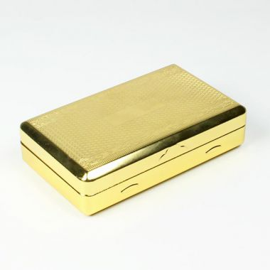 Jesta Gold Tobacco Box