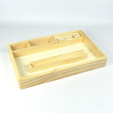 Jesta Large Wooden Rolling Tray