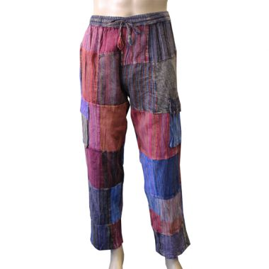 Patchwork Combat Trousers