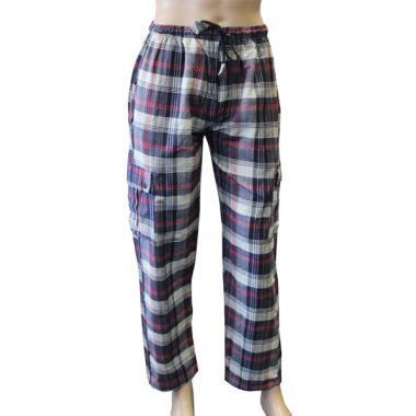 Greyjoy Chequered Combat Trousers - XL