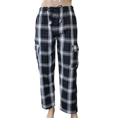Stark Chequered Combat Trousers
