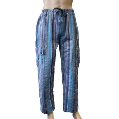 Storm's End Striped Combat Trousers