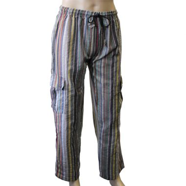 Weathertop Striped Combat Trousers - Large