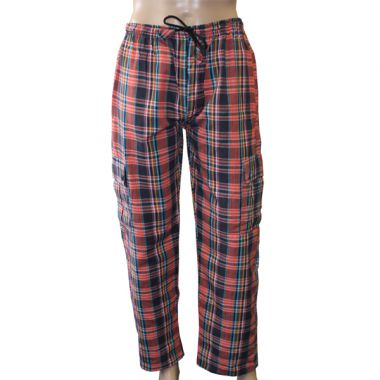 Moria Chequered Combat Trousers