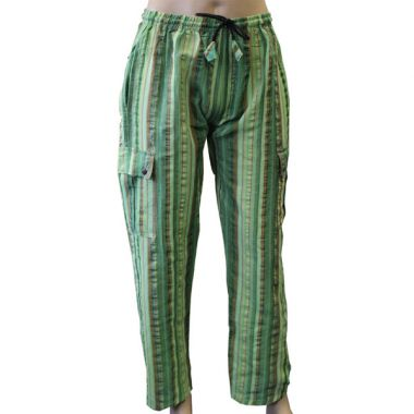 Fangorm Striped Combat Trousers