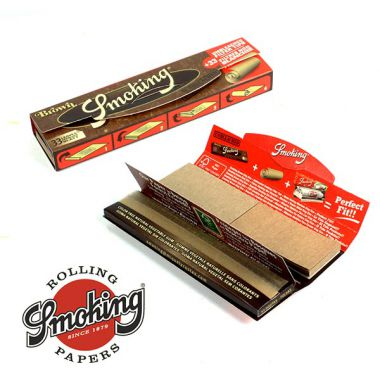Smoking Brown Kingsize Papers With Tips