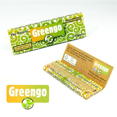 Greengo 1 1/4 Natural Papers