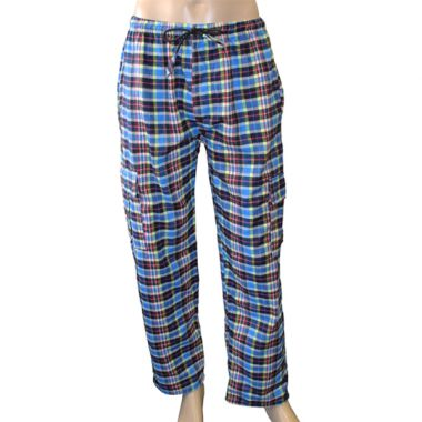 Cresta Flannel Chequered Combat Trousers - Large