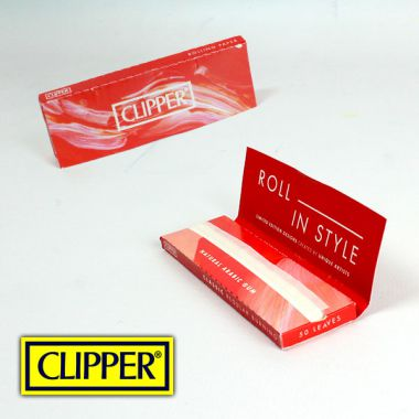 Clipper Regular Red Papers