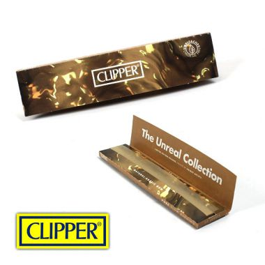 Clipper Kingsize Slim Unbleached Rolling Papers