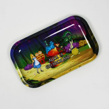 Alice In Grinderland Rolling Tray