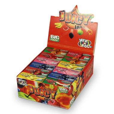 Juicy Jay Rolls - Mix 'n' Roll Box of 24