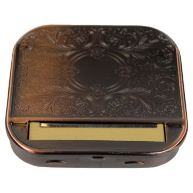 Regular Engraved Automatic Rolling Boxes - Copper