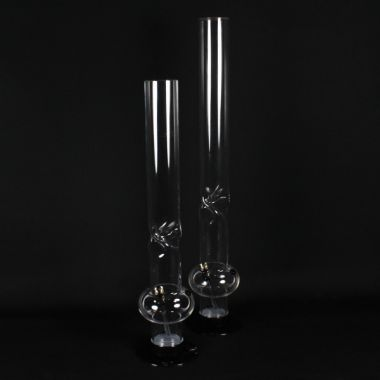 Acrylic Icicle Twist Bubble Bongs