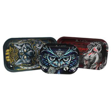 Assorted Animal Metal Rolling Tray