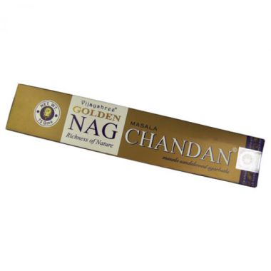 Golden Nag Chandan Vijayshree Incense Sticks
