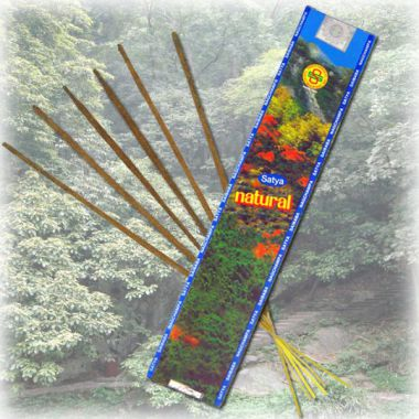 Satya Incense Sticks Natural 15g