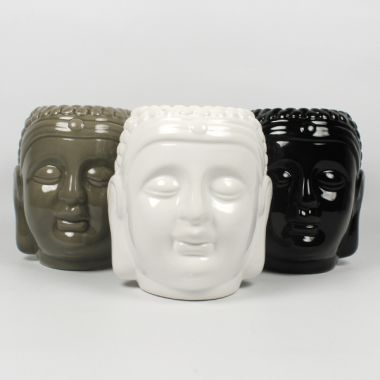 Ceramic Oil Burner Buddha Head Extra Large