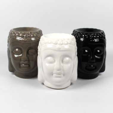 Ceramic Oil Burner Buddha Head Medium