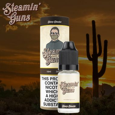 Steamin Gun's The Sharp Shooter 10ml (Fruity, fizzy Lemonade with notes of Strawberry and Raspberry)