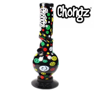 Chongz 30cm 'Walk in Fire' Acrylic Bong