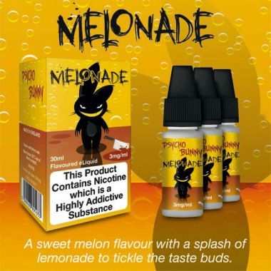 Psycho Bunny Melonade 3x10ml (Sweet Melon with a splash of Lemonade)