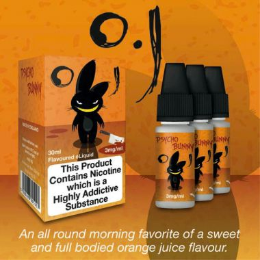 Psycho Bunny OJ 3x10ml (Sweet Morning Orange Juice)