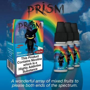 Psycho Bunny Prism 3x10ml (An array of mixed fruits)
