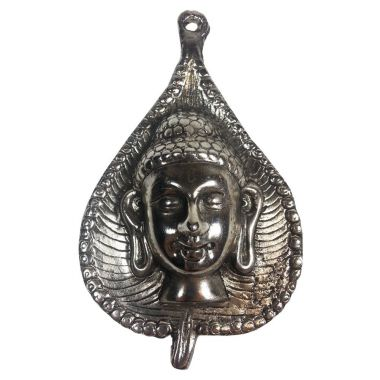 Buddha Metal Leaf Wall Plaque