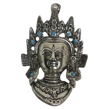 Tara Head Metal Wall Plaque