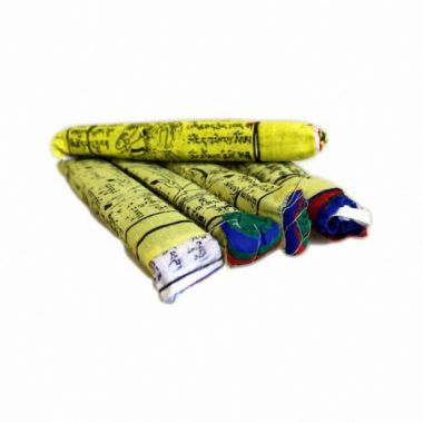 Cotton Tibetan Prayer Flags 5 Pack