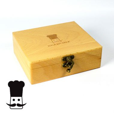 Head Chef Deluxe Beech Rolling Box